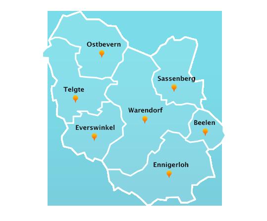 Touren Dachrinnenreinigung in Warendorf